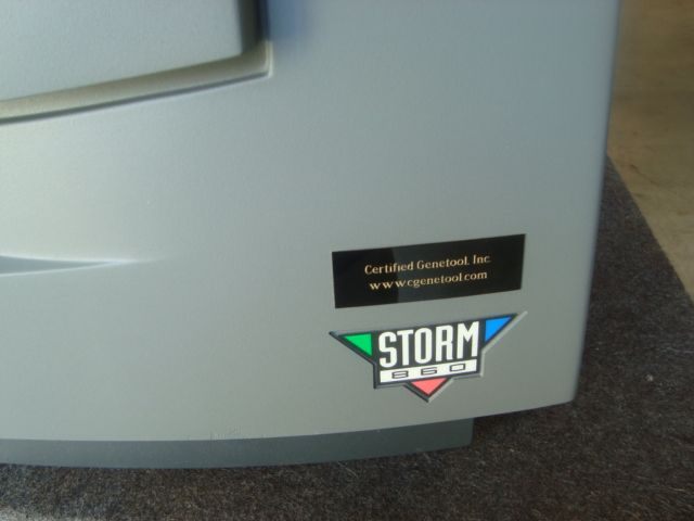 GE / Amersham Storm 860 Imager - Certified with Warranty