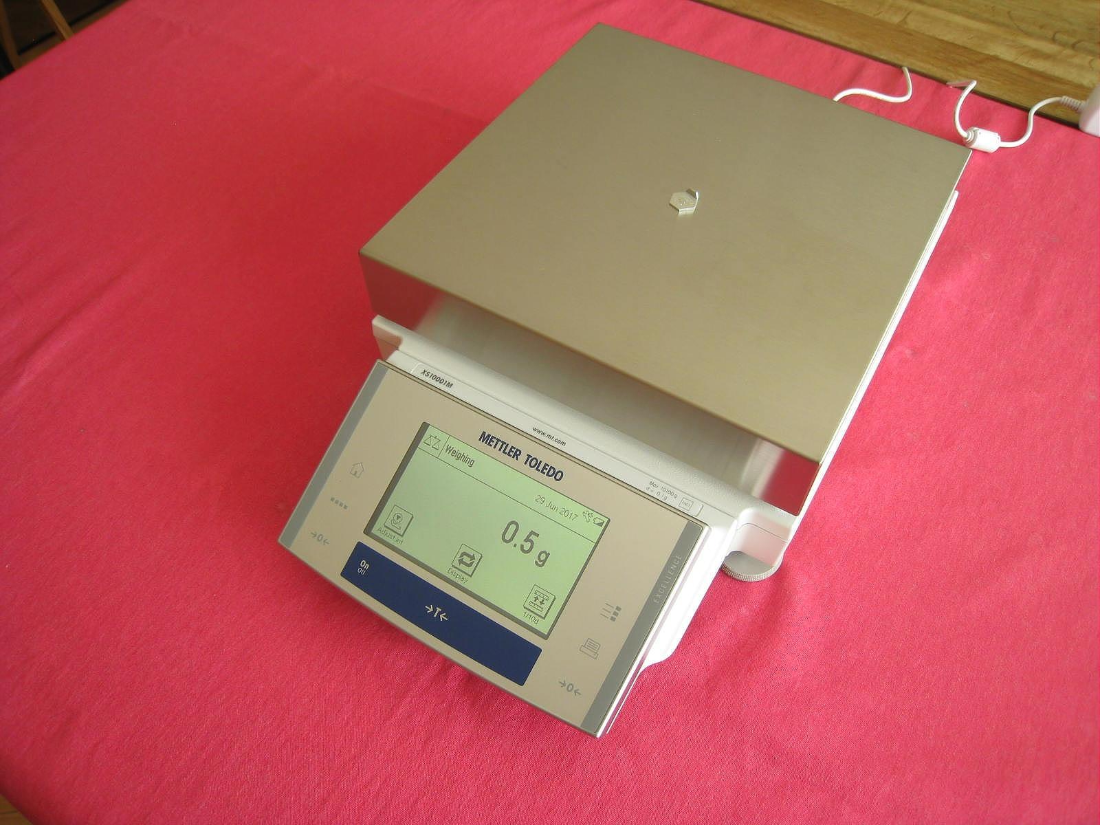 Mettler Toledo XS10001M Balance Scale 10000.0g
