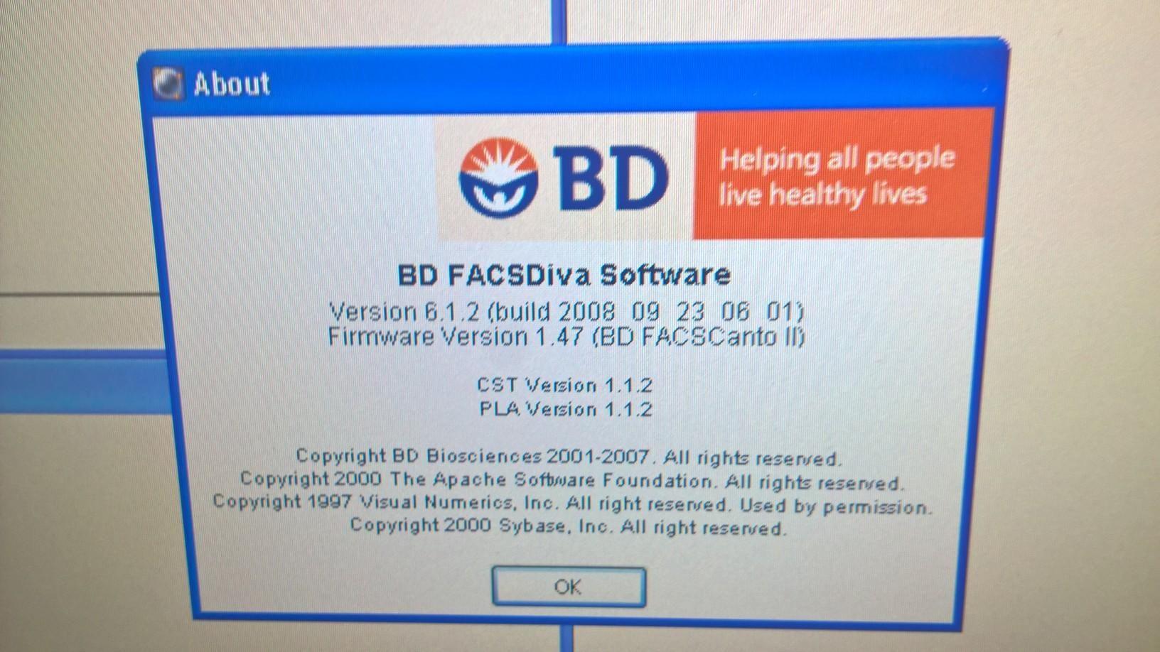 BD FACSCanto II Flow Cytometer - Certified with Warranty