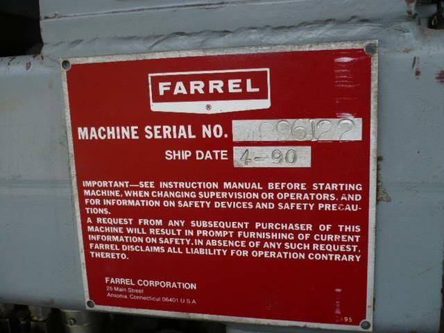 Farrel BR Banbury Lab Mixer