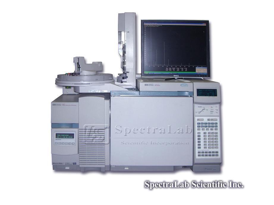 HP 5973 MSD G1999A (S/N US91430451) with HP 6890 Plus GC and HP 7683 Automatic Liquid Sampler