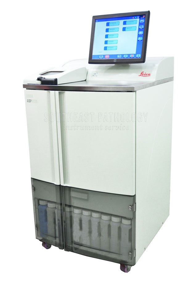 Leica ASP 6025 tissue processor, refurbished, with warranty- Southeast Pathology Instrument Service