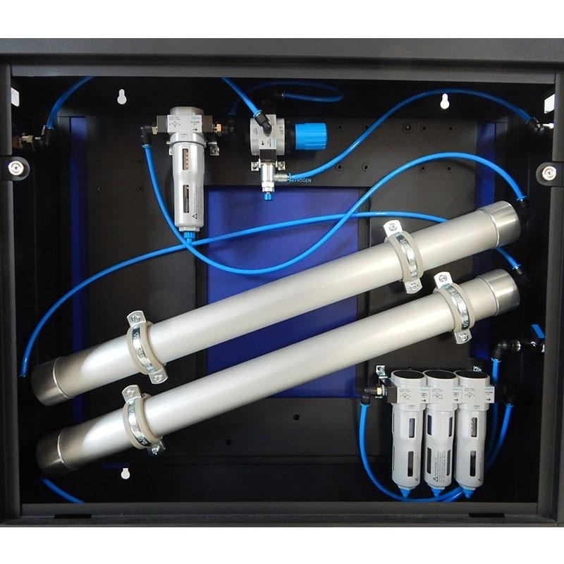 Nitrogen Gas Generator with Air Compressor