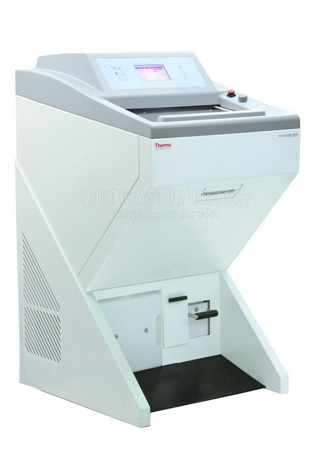 Thermo Microm HM550 cryostat, refurbished, 1 year warranty- Southeast Pathology Instrument Service