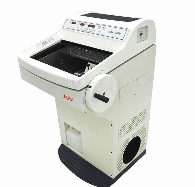 Leica CM1850 cryostat, refurbished, 1 year warranty- Southeast Pathology Instrument Service