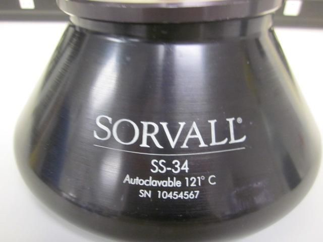 Sorvall SS-34 fixed angle rotor  Very good condition $750