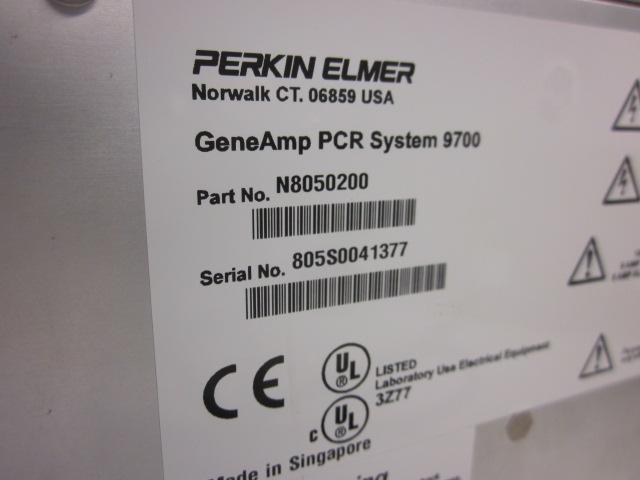 PCR thermal cycler:  Perkin Elmer GeneAmp 9700 SALE PRICED $900