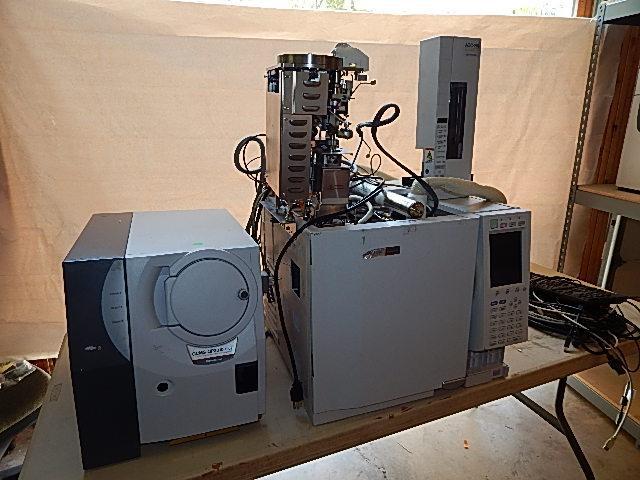 Shimadzu GCMS-QP2010 Plus, Gas Chromatograph Mass Spectrometer System