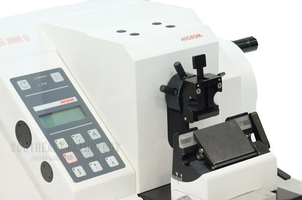 Microm HM355S automatic microtome, refurbished, 1 year warranty- Southeast Pathology Instrument Service