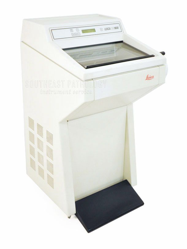 Leica CM1800 cryostat, refurbished, 1 year warranty- Southeast Pathology Instrument Service