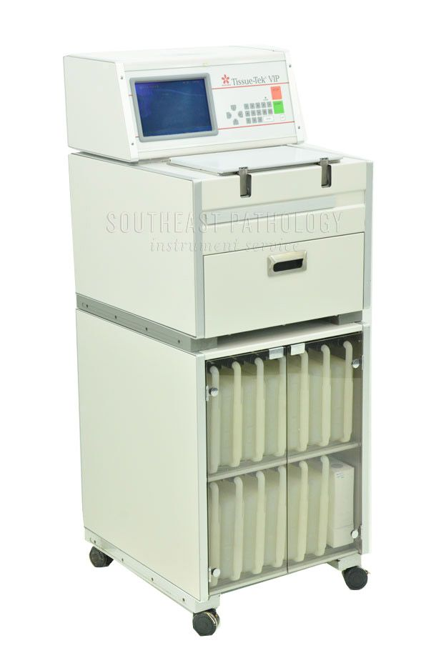 Sakura Tissue Tek VIP E300  tissue processor, refurbished, 1 year warranty- Southeast Pathology Instrument Service