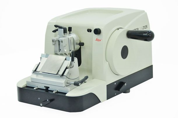 Leica RM2125 microtome, refurbished, 1 year warranty- Southeast Pathology Instrument Service
