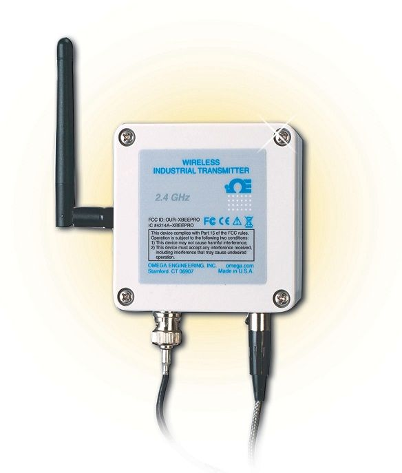 Wireless pH/Temperature Transmitter from OMEGA