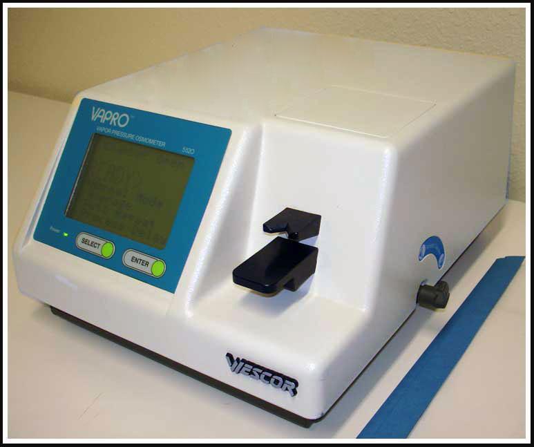 Wescor Vapor Pressure Osmometer 5520 w WARRANTY