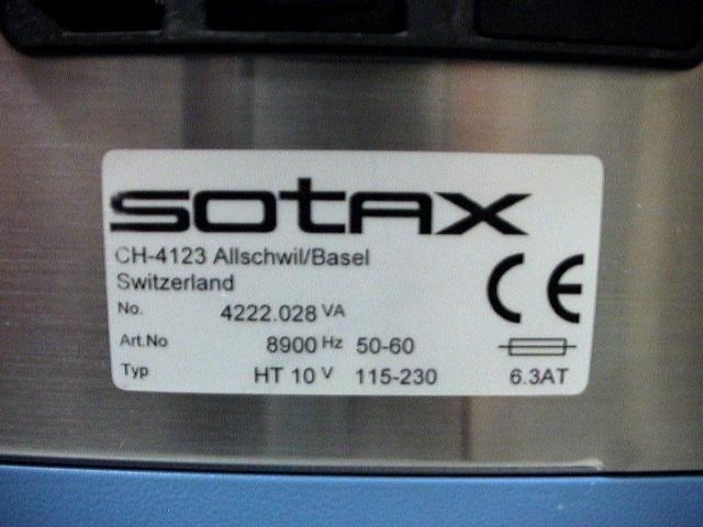 Sotax HT10 Hardness Tester (Catalog No. CH-4123)