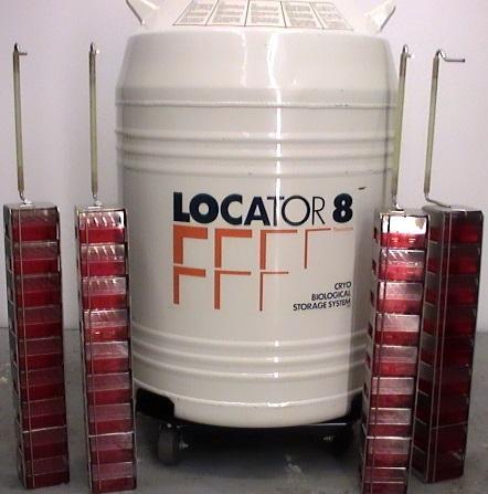 Thermo Locator 8 FFF Cryo Storage System