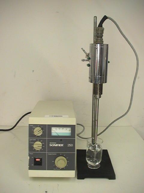 Branson Ultrasonics 250 Analog Cell Distruptor