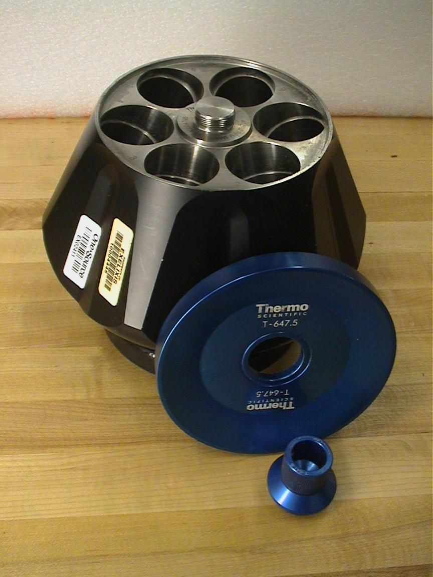Thermo Sorvall T-647.5 Centrifuge Rotor for Sale
