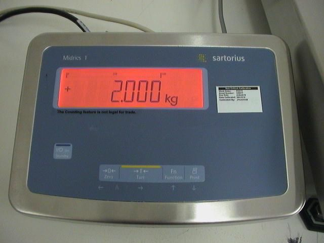 Sartorius MW1S1U-60FE-L Midrics Scale
