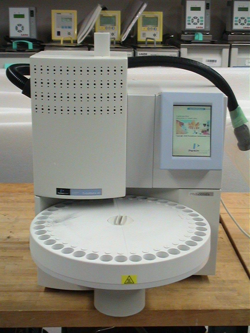 Perkin Elmer TurboMatrix 40 Headspace Autosampler and Software