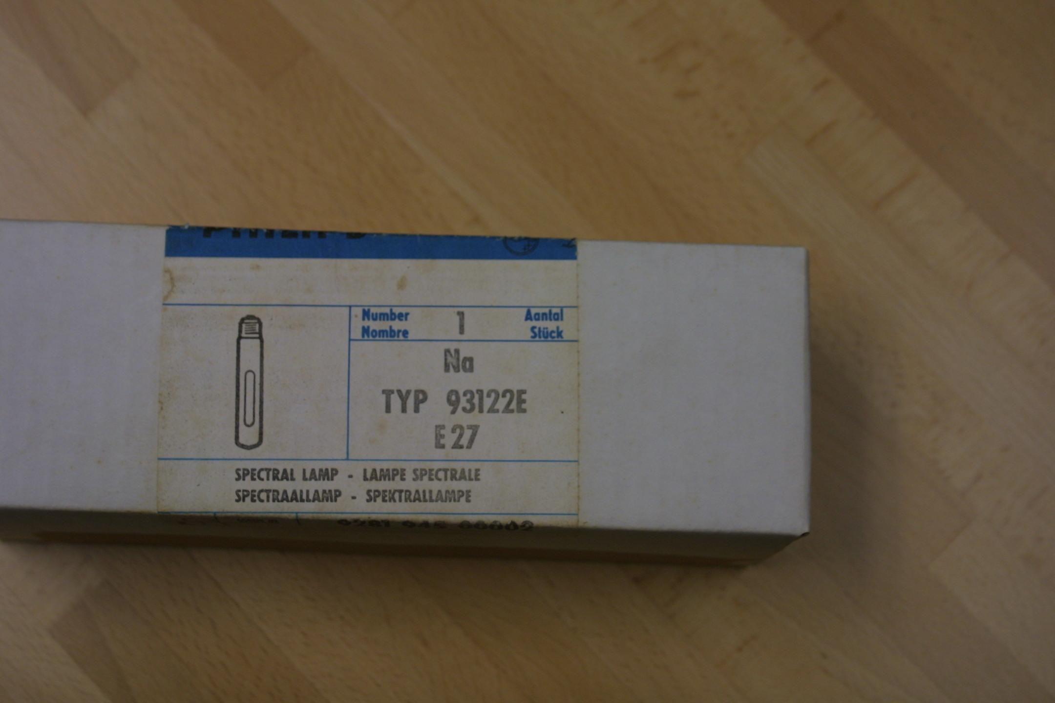Sodium Lamp for your old PE Polarimeter