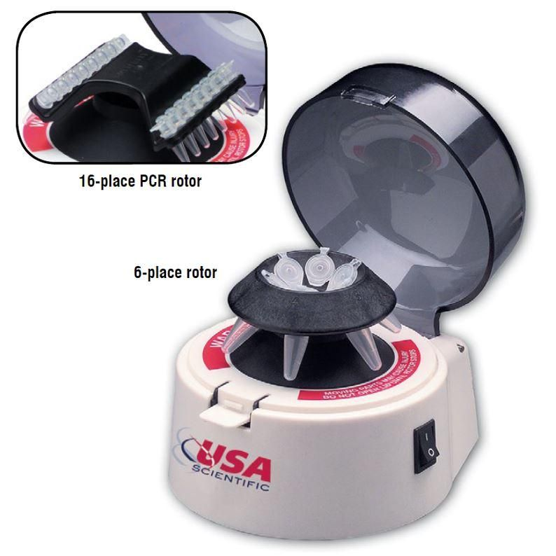 USA Scientific- Dual Rotor Personal Microcentrifuge