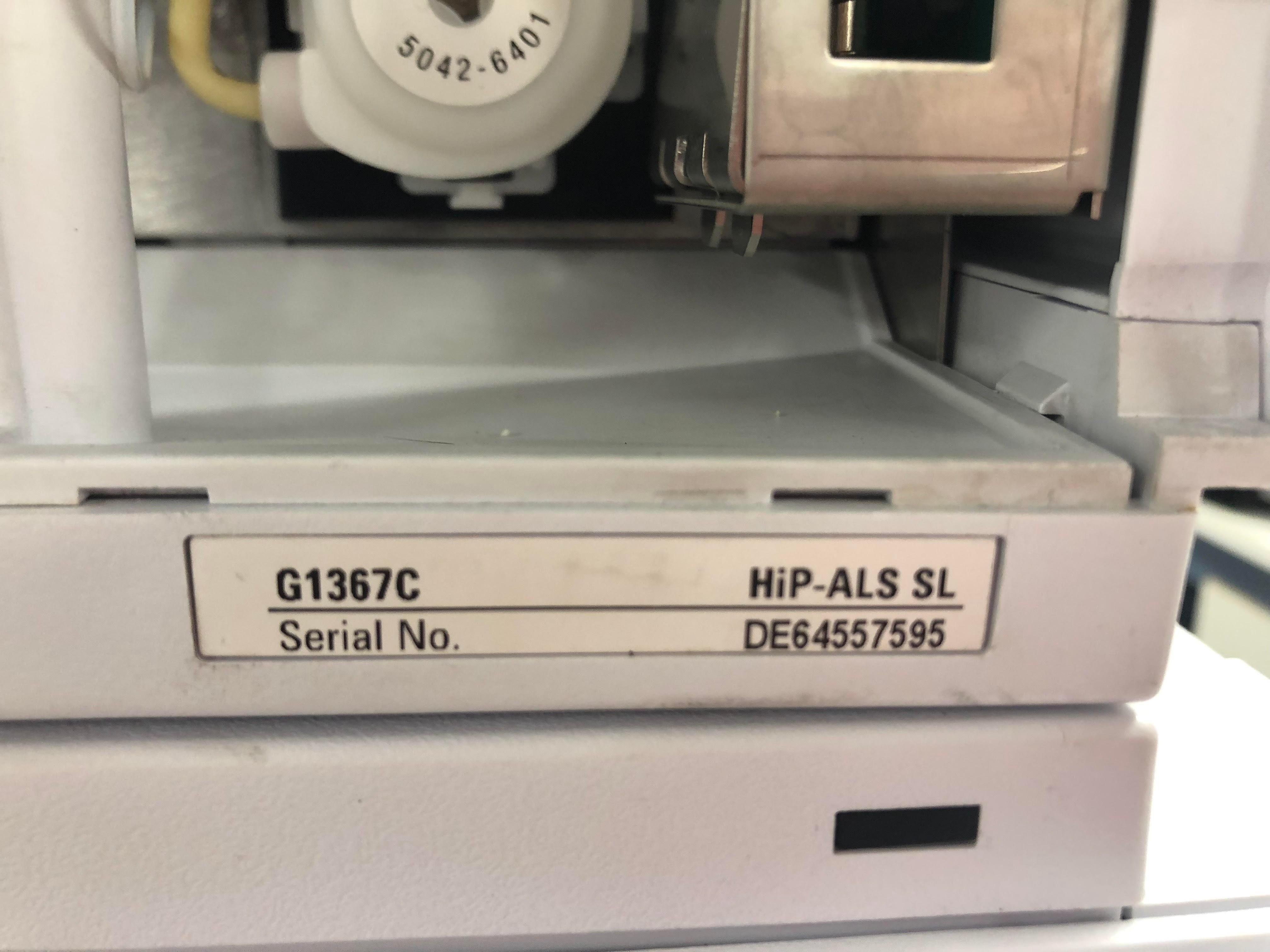 Agilent 1200 G1315D DAD- G1316B TCC SL- G1367C Hip ALS SL-G1312B Bin Pump SL- G1379B