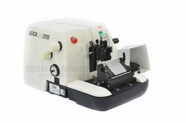 Leica RM2155 automatic microtome, refurbished, 1 year warranty- Southeast Pathology Instrument Service
