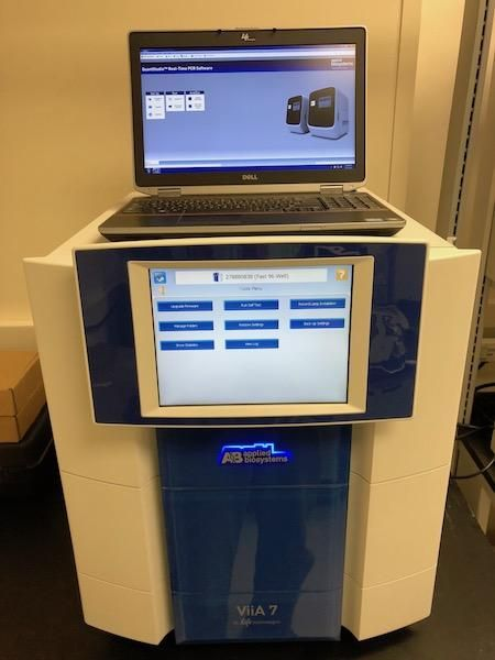ABI ViiA 7 Real-Time PCR Complete System-New PM Service!