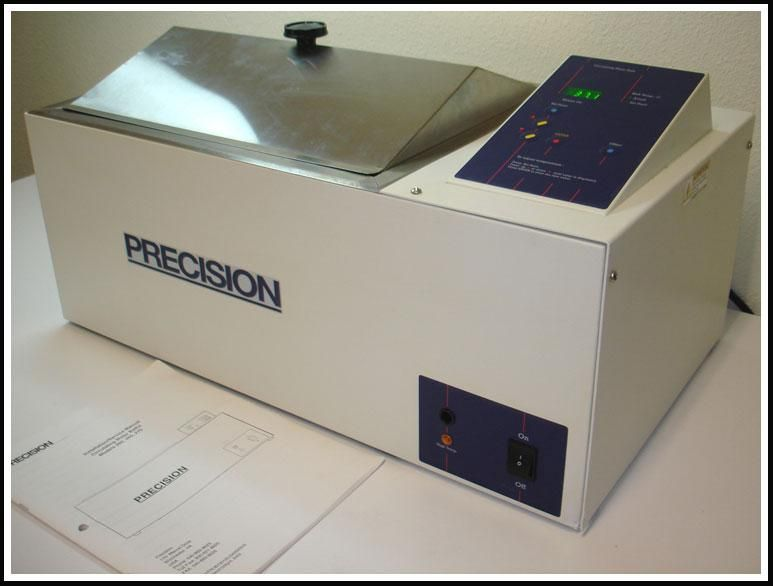 Precision Circulating Water Bath 260 Circulator w WARRANTY