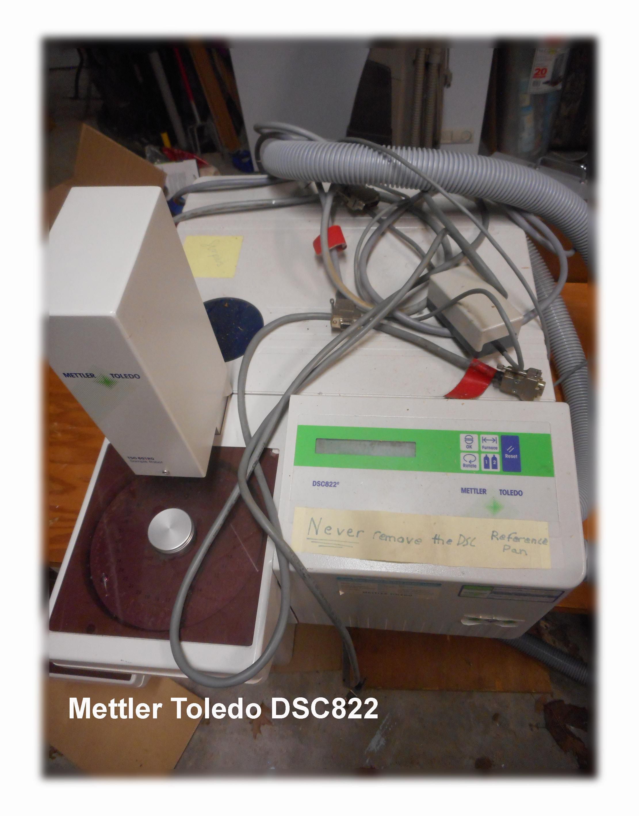 Mettler Toledo DSC 822