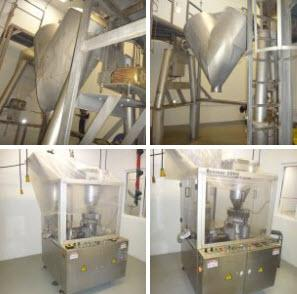 Nutraceutical/Pharmaceutical Equipment Auction, Excess to Continuing Operations of Twinlab