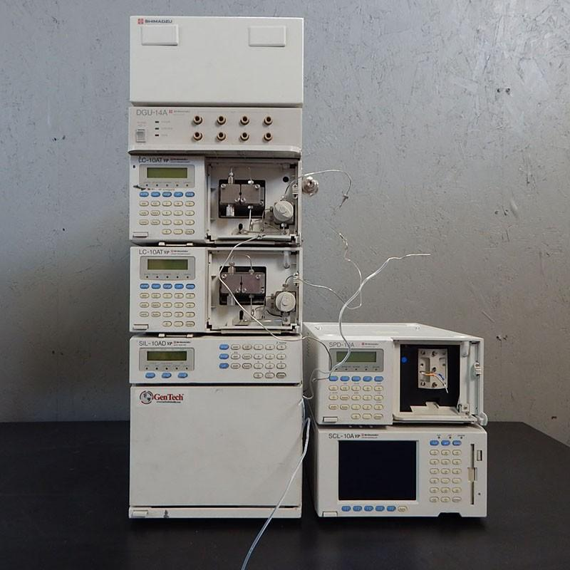 Shimadzu 10A HPLC System with UV-VIS Detector