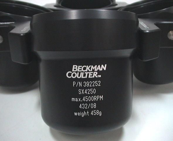 New - In Original Box Beckman Coulter SX4250 Rotor with 392252 Buckets