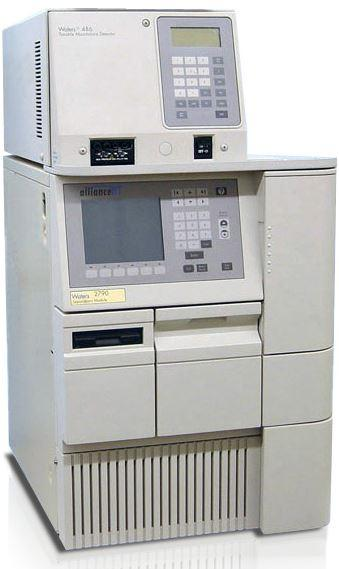 Waters 2790 HPLC System with 486 Tunable Absorbance Detector