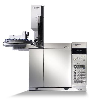 Agilent 7890 GC-FID System with Split-Splitless Injection Port