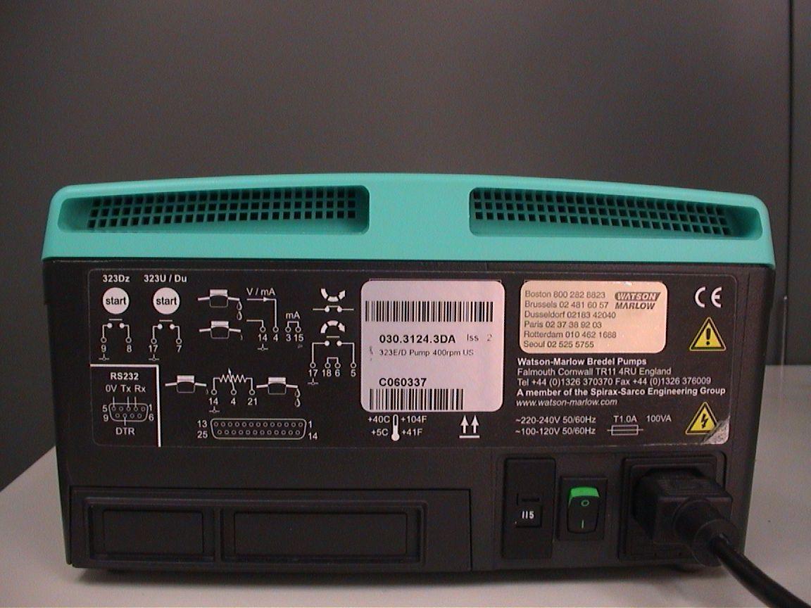 Watson Marlow 323E/D Pump