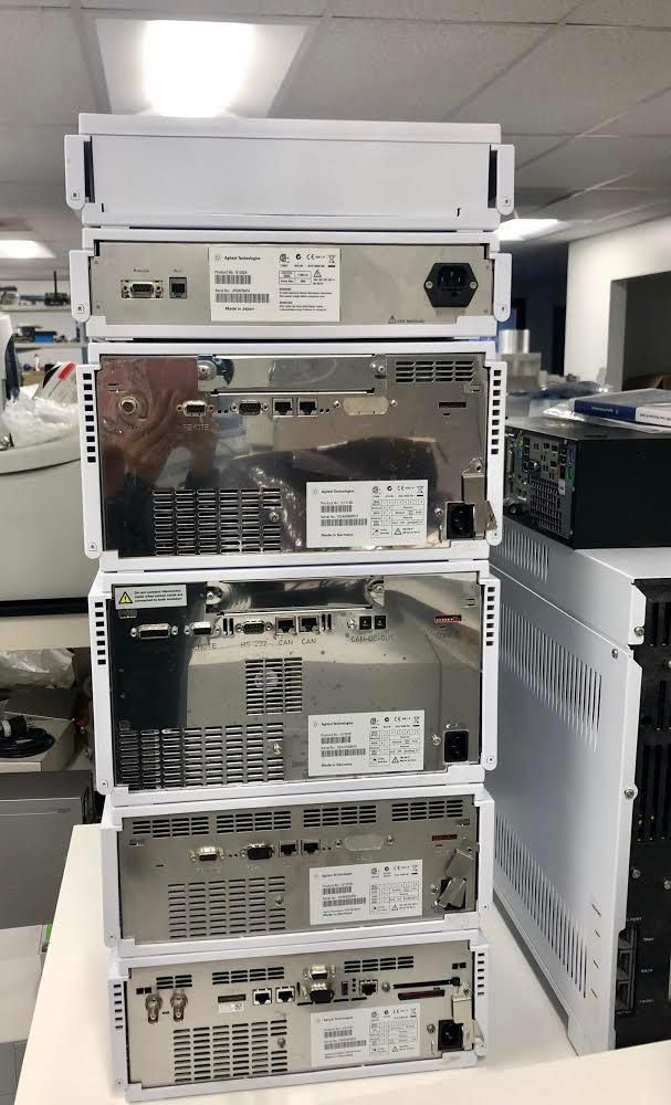 Agilent 1200 DAD 600bar System Refurbished with Computer