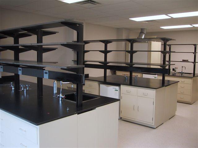 Lab-Design 10 foot Metal Casework Island Assembly