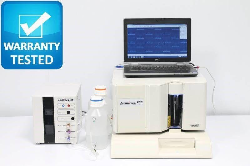 Luminex 200 Suspension Array Analyzer w/ Biorad Bio-Rad Bio-Plex Manager 6.1
