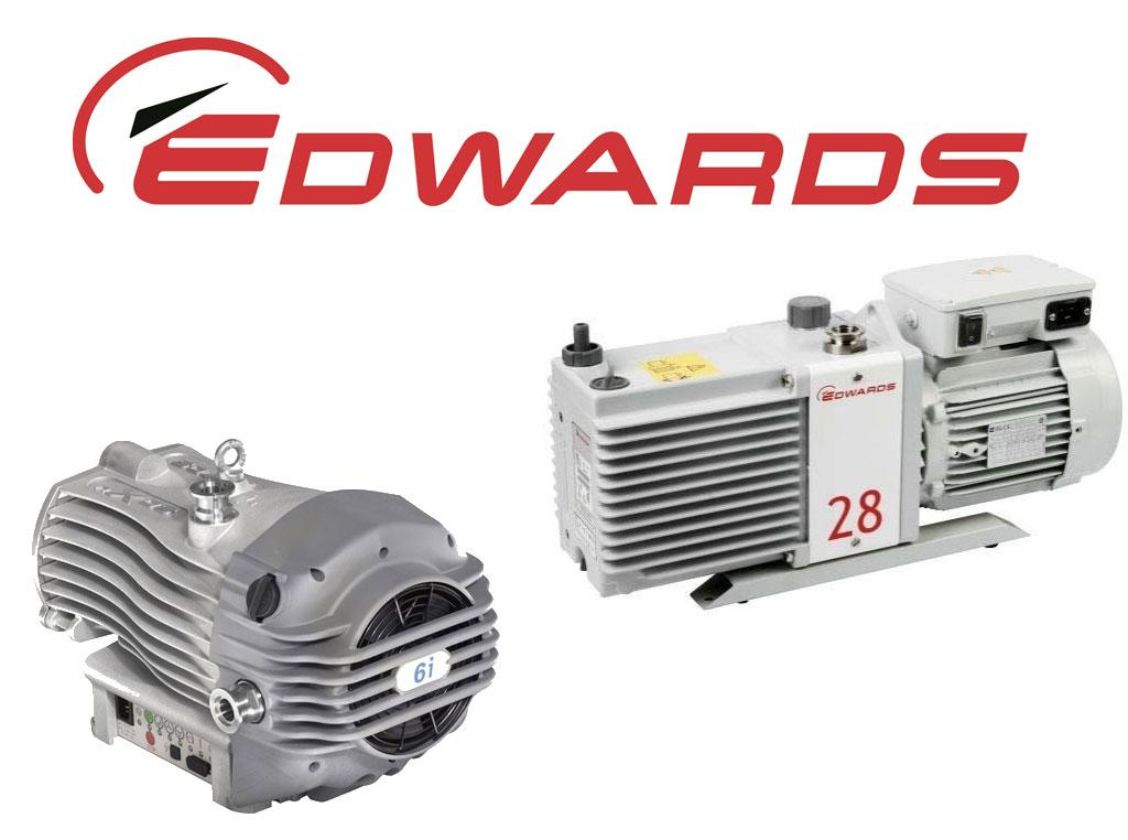 Edwards Vacuum Pumps - New, Used & Refurbished with Warranty