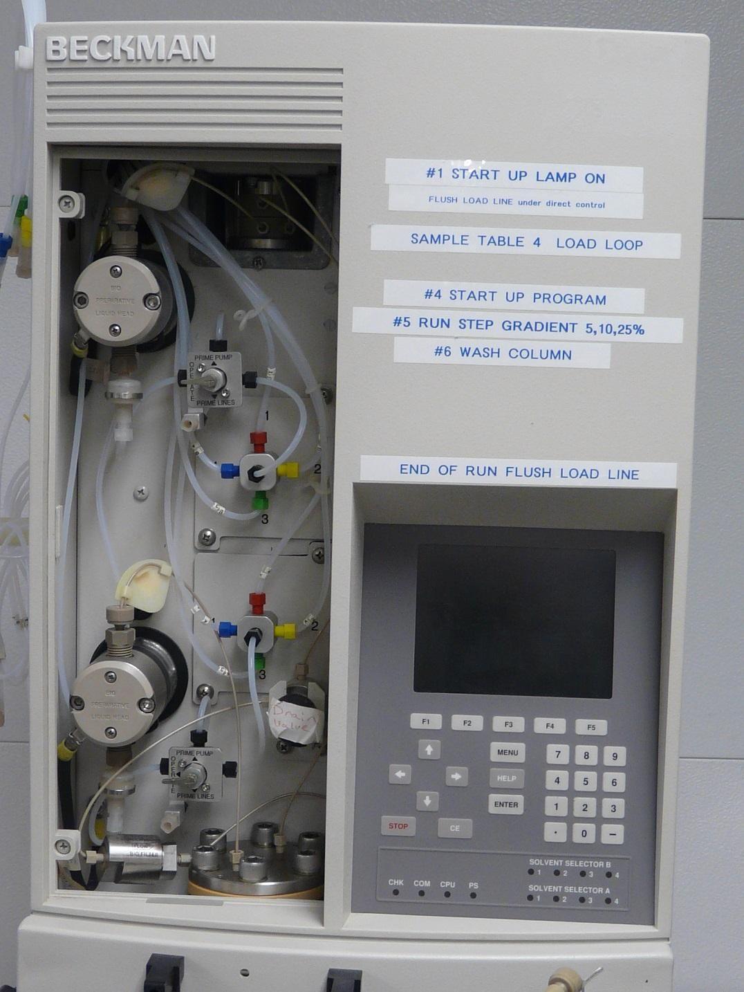 ~ Beckman BioSys 510 Protein Purification Workstation