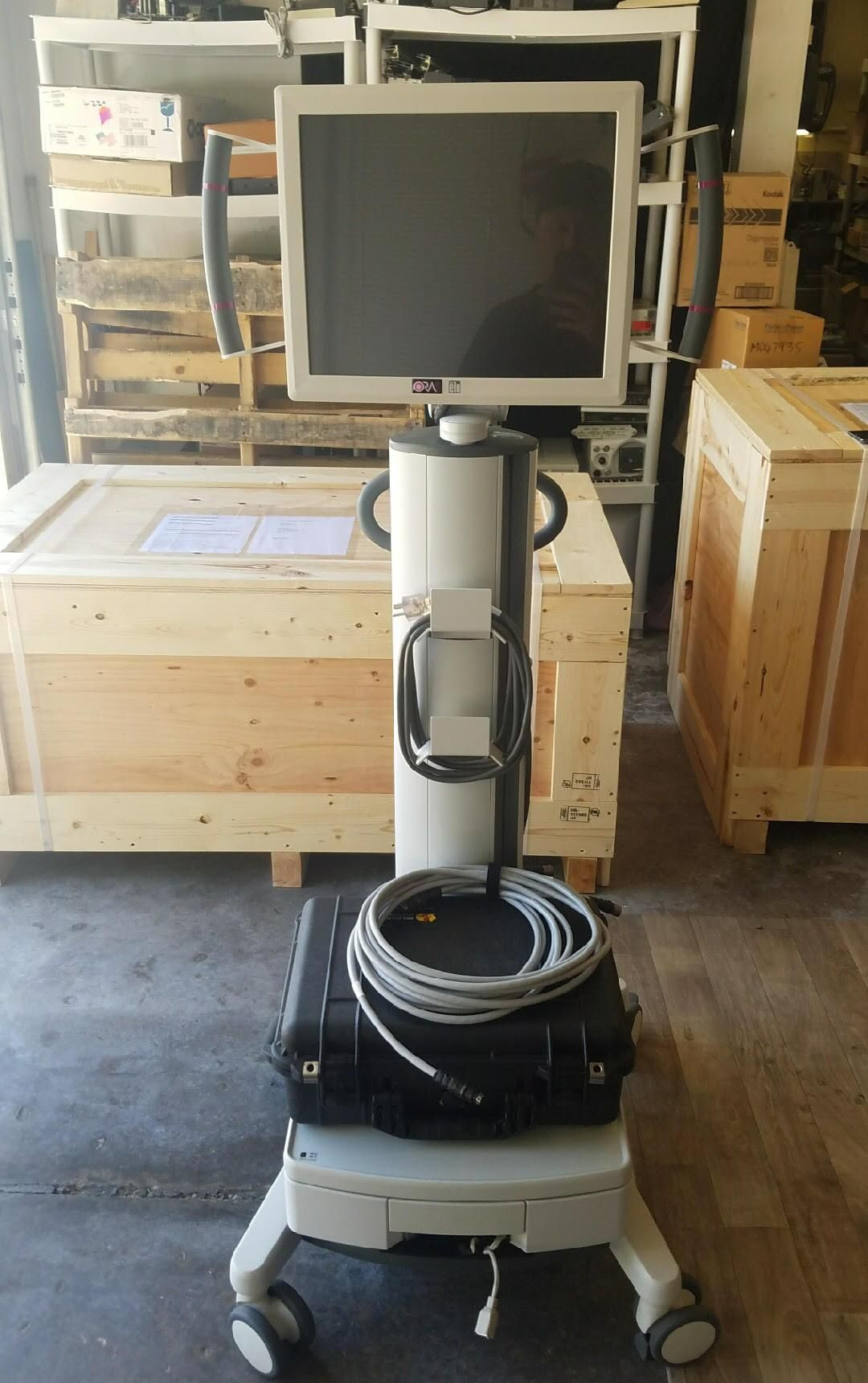 ORA System 2000 with VerifEye + Technologies, Manufacturer 03/23/17