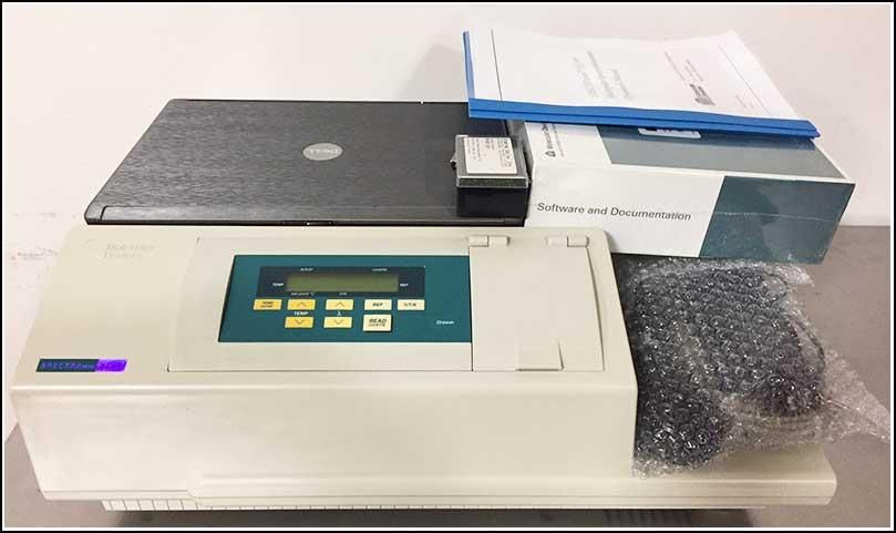 Molecular Devices SpectraMax Plus 384 Microplate Reader w WARRANTY