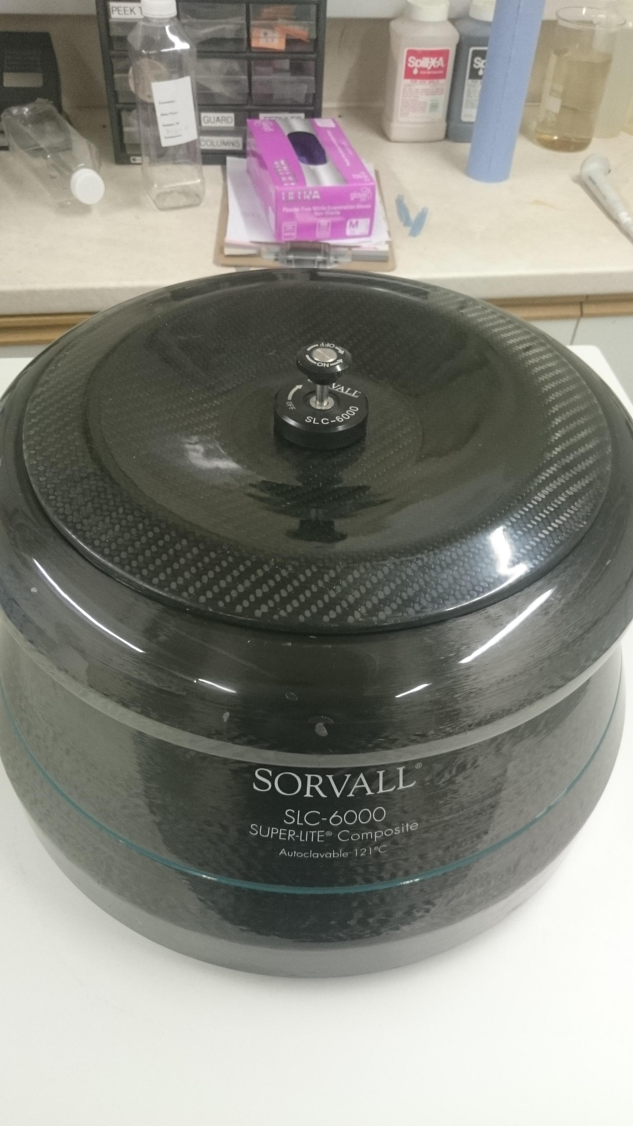 Sorvall SLSorvall 6000 Rotor Carbon Fiber For Sorvall Evolution RC centrifuge 6 x 1L
