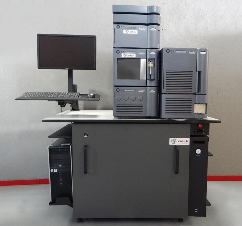 Quiet Mass Spec Workbench with Noise Enclosure & Nitrogen Gas Generator