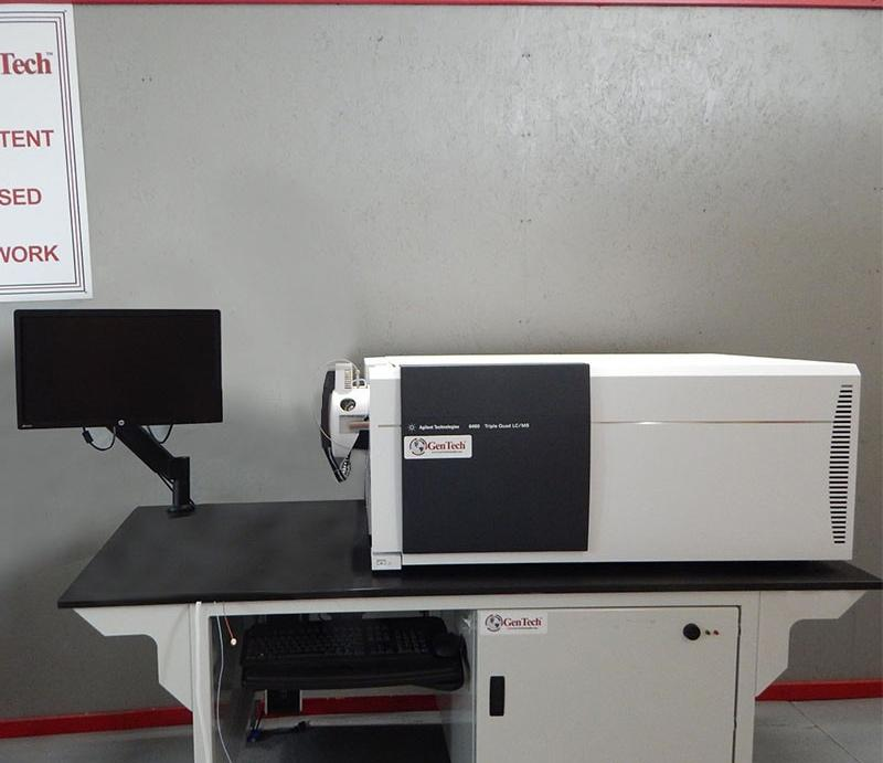 Agilent 6460 LC/MS with PAL 1200 HPLC Front End