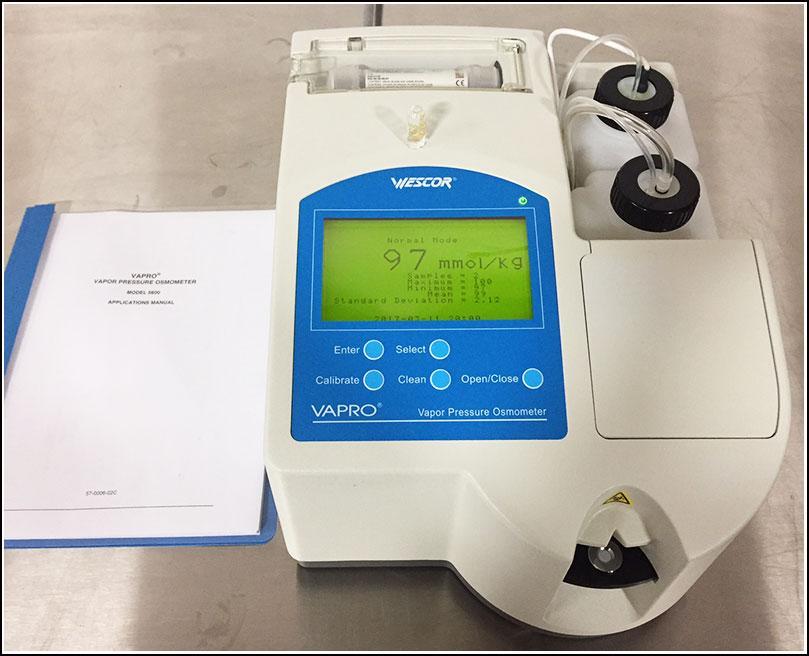 Wescor Vapro Pressure Osmometer 5600 w WARRANTY