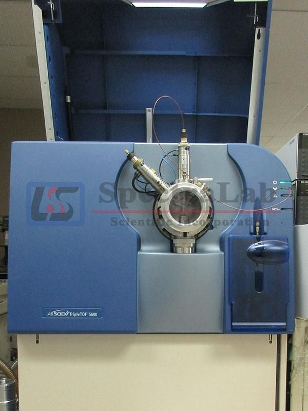 AB Sciex 5600+ TripleTOF LC-MS/MS