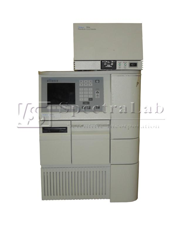 Waters Alliance 2695 HPLC system with Waters 996 PDA/2487 UV
